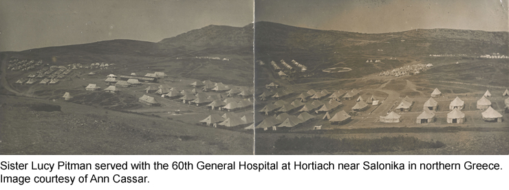60th General Hostpital at Hortiach, Greece