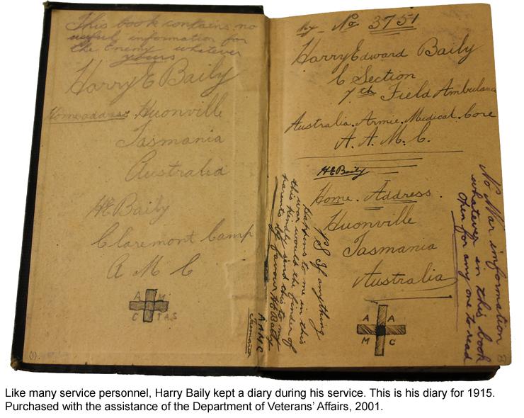 Harry Baily's diary